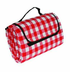 "Amazon.com: Camco 42801 Picnic Blanket (51"" x 59"", Red/White): Automotive"