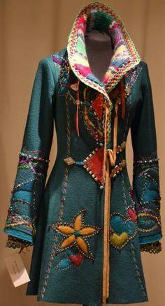 Idée de déco pour mon manteau d'hiver