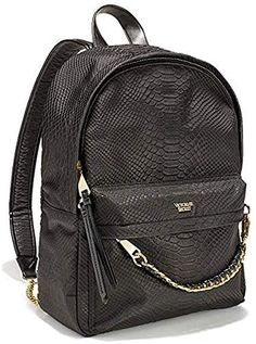 online shopping for Victoria's Secret City Backpack, Black Python from top store. See new offer for Victoria's Secret City Backpack, Black Python Backpack Brands, Backpack Purse, Mini Backpack, Black Backpack, Fashion Backpack, Studded Backpack, Mochila Victoria Secret, Victoria Secret Backpack, Victoria Secret Bags
