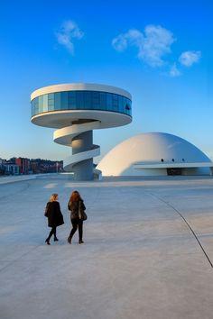 Centro Niemeyer de Avilés (Foto: Luis Argüelles)