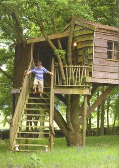 I always wanted one, so my kids will definitely get a tree house!