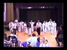 Seidokan Karate 1990 Demonstration Part 1, Kata,  Self-Defense, Toide