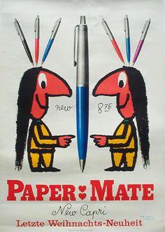 Herbert Leupin - Paper:Mate
