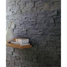 Plaquette de parement el gance en pierre naturelle beige touibaastone pa - Smart tiles chez leroy merlin ...