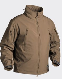 Helikon Gunfighter Tactical Soft Shell jacket - Coyote