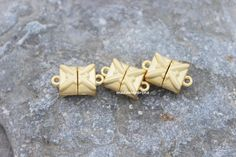 A personal favourite from my Etsy shop https://www.etsy.com/listing/509208403/3-pcs-strong-magnetic-clasp-matte-gold