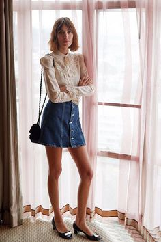 alexa chung in vintage