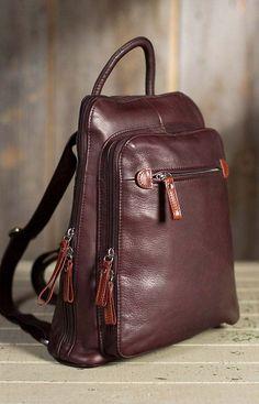 leather purses and handbags Diy Backpack, Leather Backpack Purse, Leather Purses, Leather Handbags, Fashion Backpack, Leather Bag, Soft Leather, Diy Purse, Cute Purses