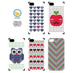 iphone cover cross stitch kit by onneke | notonthehighstreet.com