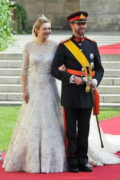 Luxembourg Royal Wedding: Prince Guillaume & Countess Stephanie De Lannoy's Glitzy Nuptials (PHOTOS)