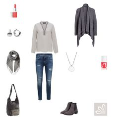 Grey Meets Coral http://www.3compliments.de/outfit-2015-11-13