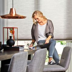 Discover the brilliant motorised electric blind options at Duette