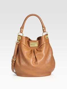 Marc by Marc Jacobs Classic Q Hillier Hobo in Cinnamon