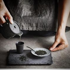 """Drink your tea slowly and reverently, as if it is the axis on which the world earth revolves - slowly, evenly, without rushing toward the future. Live the actual moment. Only this moment is life."" -Thich Nhat Hanh"