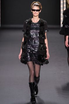 anna sui: fall 2013 RTW: just like holly golightly stepped into the future