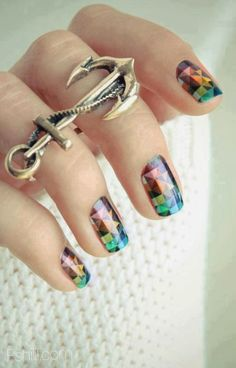 Amazing nail art designs pictures 2014