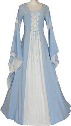 Dornbluth Damen Mittelalter Kleid Johanna Ecru (32/34, He... https://www.amazon.de/dp/B00XZ6U164/ref=cm_sw_r_pi_dp_x_7v2fybMCV2V01
