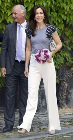 Princesses Marie and Mary dazzles at garden party for Danish royals - Photo 10 | Celebrity news in hellomagazine.com