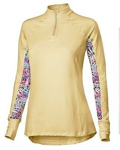 Shirts and Tops 183366: Noble Outfitters Ashley Perform Shirt Lemon Fizz X-Small -> BUY IT NOW ONLY: $81.99 on eBay!