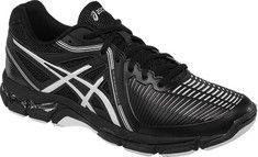 ASICS GEL-Netburner Ballistic Volleyball Shoe - Black/Silver