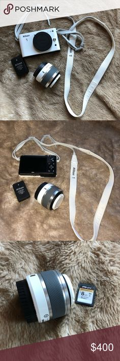Nikon J1 Beautiful Nikon J1 only used about twice. There are no scratches or defects in the item it is just missing the battery charger. It is in full working order. Open to offers nikon Other
