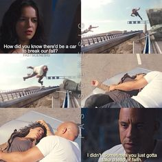 Dom and Letty 😍😩 Letty Fast And Furious, Fast And Furious Actors, Furious Movie, The Furious, Michelle Rodriguez, Vin Diesel, Paul Walker, Dwayne Johnson, Dom And Letty