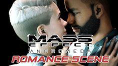 Mass Effect Andromeda (PS4) - Romance Scene - Walkthrough Gameplay - Cor...