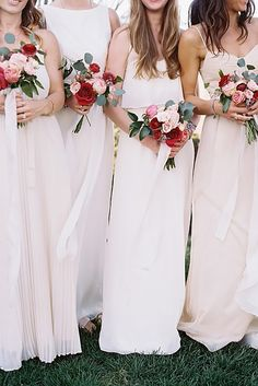 Incredible Bridesmaid Wedding Bouquets ❤ See more: http://www.weddingforward.com/bridesmaid-wedding-bouquets/ #weddings