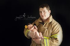www.janelleandersen.com #newborn #birth #dad #baby #girl #infant #child  #photography #naturallight #picture #firefighter #daughter