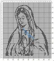 Gallery.ru / Фото #102 - Богородица (схемы) - Olgakam