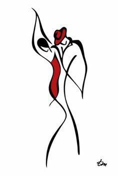 "#DanceOn!  Saatchi Art Artist Tatyana Markovtsev; ""untitled"""