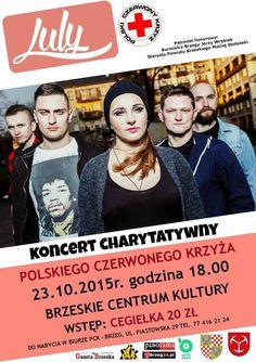 Dziś gramy dla PCK !!! :D  Zapraszamy do BCK  Brzegu. Widzimy się o 18:00 :)  #koncert #live #gramy #LULYmusic #show #pomagamy