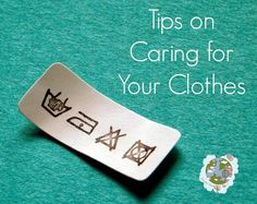 Green Issues by Agy: Tips on Caring for Your Clothes