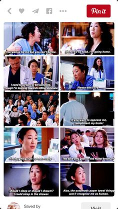 Cristina is me as a doctor
