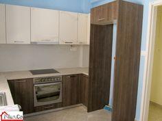 Ανακαίνιση Κουζίνας στο Μπουρνάζι - Ντουλάπια - Βαψίματα - Εντοιχισμός Kitchen Cabinets, Kitchen Appliances, Home Decor, Diy Kitchen Appliances, Home Appliances, Decoration Home, Room Decor, Cabinets, Kitchen Gadgets