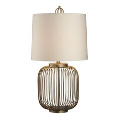 midcentury lamp from crate and barrel