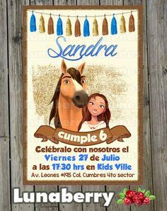 Horse Birthday Parties, Toy Story Birthday, Third Birthday, Birthday Fun, Caballo Spirit, Birthday Chalkboard, Dreamworks, Birthday Invitations, Party Themes