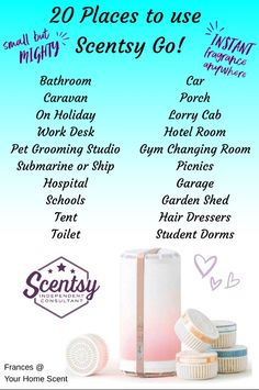 NEW Scentsy Go! Available 1st September 2017. www.lozworldscents.scentsy.us