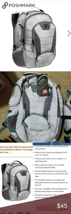 NEW WITH TAGS! Ogio Bandit Backpack Brand new with tags! Specs can be seen in the third photo. Jansport Bags Backpacks