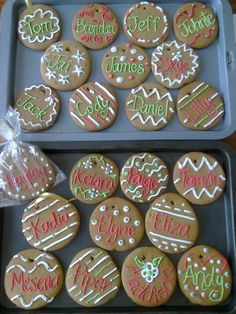Christmas Biscuits - for the kids in my class :)