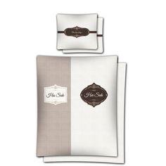 Moderné romantické posteľné obliečky hnedej farby Coffee, Kaffee, Cup Of Coffee