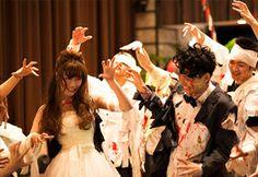 crazy wedding / ウェディング / 結婚式 / オリジナルウェディング/ オーダーメイド結婚式/音楽/野外フェス/ダンス/サプライズ/surprise/ コンテンツ