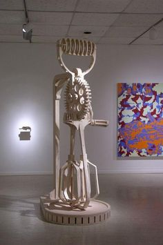 Cardboard Sculpture. Find out more at bored-bored.com/cardbord-sculptures
