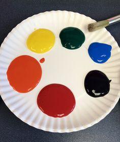 PreK Paint Pallet