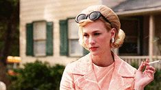 """Don't be afraid to let people know that you're OVER IT.   19 Life Truths Betty Draper Taught Us On """"Mad Men"""""""