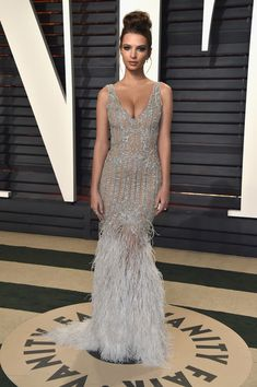 Emily Ratajkowski in Jonathan Simkhai - Every Look from the 2017 Oscars After-Parties You Can't Miss - Photos