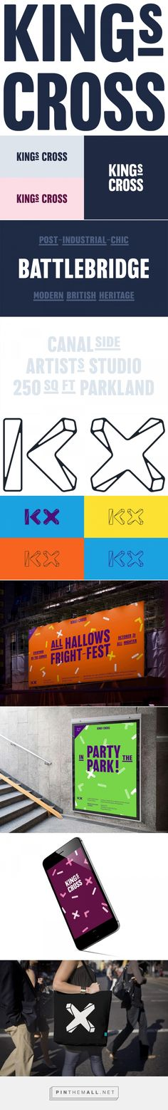 Brand New: New Logo and Identity for King's Cross by SomeOne... - a grouped images picture - Pin Them All