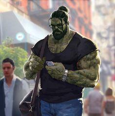 Rate new style of Hulk from 1 to 10!  . . #hulk #hulksmash #newstyle #hulkstyle
