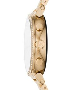 825f0c25b8a9 Michael Kors Access Women s Sofie Heart Rate Gold-Tone Stainless Steel  Bracelet Touchscreen Smart Watch