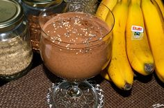 Multi Seed Smoothie With Cacao!  Ingredieants (Organic): 1 Banana 1 tablespoon of Chia seeds 1 tablespoon of Sesame seeds  2 tablespoons of Flax seeds 1/2 tablespoon of Cacao powder 1 tablespoon of Raisins  1/3 cup of homemade Oat milk 1/2 tablespoon of Coconut Butter